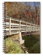 Park Bridge Autumn 3 Spiral Notebook
