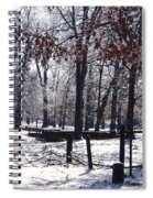 Park In The Snow Spiral Notebook