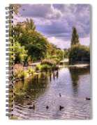 Park Lake Spiral Notebook
