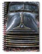 Parked Bmw Spiral Notebook