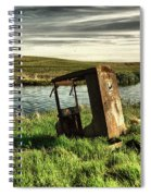 Parked By The Pond Spiral Notebook