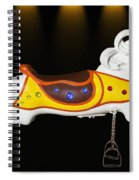 Parker Flying Carousel Horse 3 Spiral Notebook
