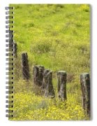 Parker Ranch Fence Spiral Notebook
