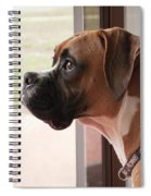 Parker The Boxer Spiral Notebook