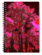 Parking Lot Palms 1 12 Spiral Notebook