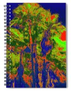 Parking Lot Palms 1 15 Spiral Notebook