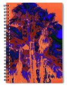 Parking Lot Palms 1 18 Spiral Notebook
