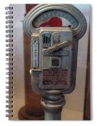 Parking Meter Change Spiral Notebook
