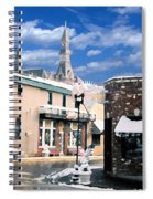 Parkville In Winter Spiral Notebook