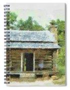 Parkway Cabin Spiral Notebook