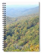 Parkway Mountains Spiral Notebook