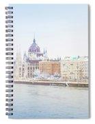 parliament in  Budapest Spiral Notebook