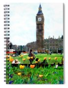 Parliament Square London Spiral Notebook
