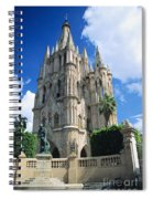 Parroquia Church Spiral Notebook
