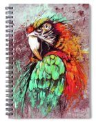 Parrot Art 09i Spiral Notebook