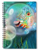 Parrot Fish - Through A Bubble Spiral Notebook