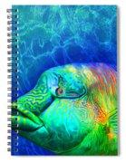 Parrotfish - Rainbow Spirit Spiral Notebook
