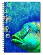 Parrotfish - Rainbow Spirit Spiral Notebook