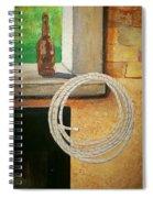 Part Of Fireplace Mural Spiral Notebook