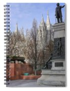 Part Of Temple Square Spiral Notebook