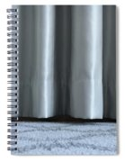Part Of The Base Of An Interior Curtain  Spiral Notebook