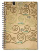 Part Of The Tree Of Life, Part 5 Spiral Notebook