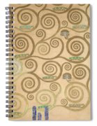 Part Of The Tree Of Life, Part 7 Spiral Notebook