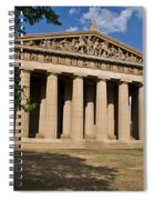 Parthenon Nashville Tennessee Spiral Notebook