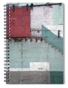 Partial Demolition  Spiral Notebook