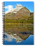 Partly Cloudy Fishercap Reflections Spiral Notebook