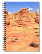 Partly Cloudy Over Coyote South Spiral Notebook