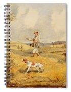 Partridge Shooting  Spiral Notebook