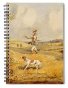 Partridge Shooting  Spiral Notebook