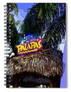 Party At Palapas Spiral Notebook