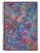 Party Burst Spiral Notebook