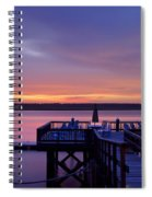 Party Dock Spiral Notebook