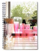 Party Drinks Spiral Notebook
