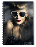 Party Fashion Pin Up Spiral Notebook