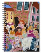 Party In The Courtyard Spiral Notebook