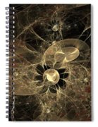 Party Of The Universe Spiral Notebook