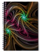 Party With Balloons Spiral Notebook