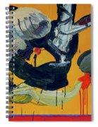 Pas De Trois Spiral Notebook