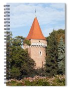 Pasamonikow Tower And Planty Park In Krakow Spiral Notebook