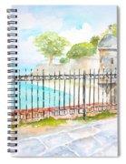 Paseo De La Princesa Puerto Rico Spiral Notebook