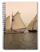 Passing Astern Spiral Notebook