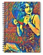 Passing Glance  Spiral Notebook