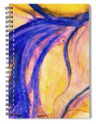 Passing Purple Spiral Notebook