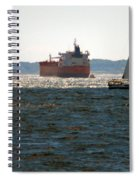 Passing Ships Spiral Notebook