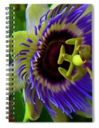 Passion-fruit Flower Spiral Notebook