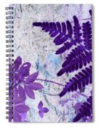 Passion Of Purple Spiral Notebook